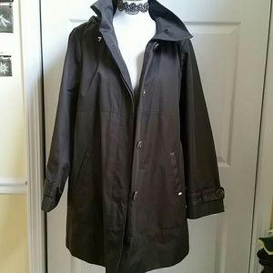 Ellen Tracy Coat Sz 1X NWOT